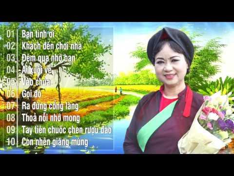 Dân Ca Quan Họ Bắc Ninh NSUT Thúy Cải Hay Mới Nhất 2018