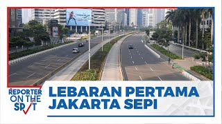 Jakarta Sepi saat Lebaran Hari Pertama