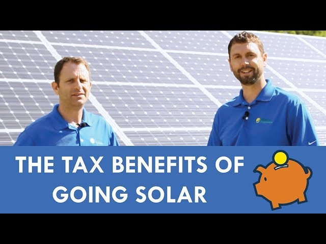 The Tax Benefits of Going Solar
