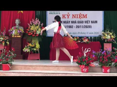 Múa: tay trái chỉ trăng - biểu diễn Hương Mai