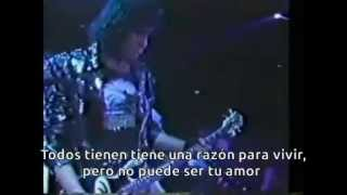 Kiss - Reason To Live (Subtitulos en español)