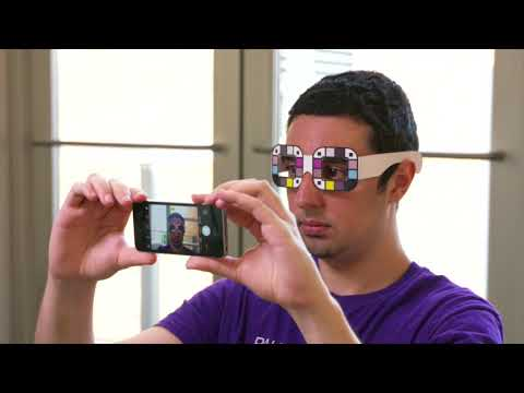 University of Washington researchers have developed a smartphone app that accurately measures jaundice in adults using a selfie and an accessory. BiliScreen is a non-invasive alternative to to blood draws for measuring bilirubin levels in the blood stream. Excess bilirubin can be an indicator of a variety of health conditions - including pancreatic cancer, a disease that often goes undetected until it is in an advanced stage, when jaundice is visible to the naked eye. BiliScreen can be used anytime, anywhere in conjunction with either a 3D-printed box or color-calibrated glasses to account for different lighting conditions.