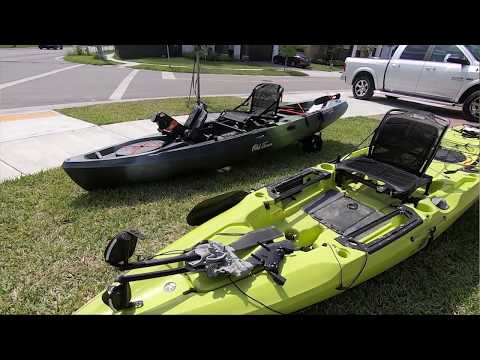 BUDGET Pedal Kayak vs Premium - Old Town Topwater | Youtube