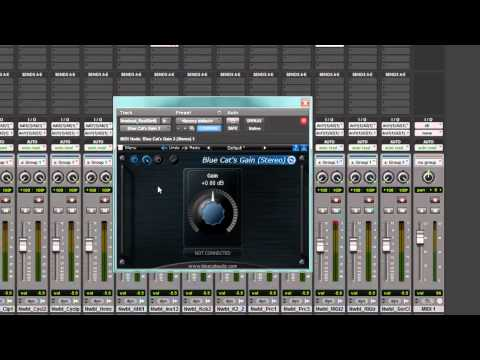 Blue Cat – Setting up Side Chain in Pro Tools
