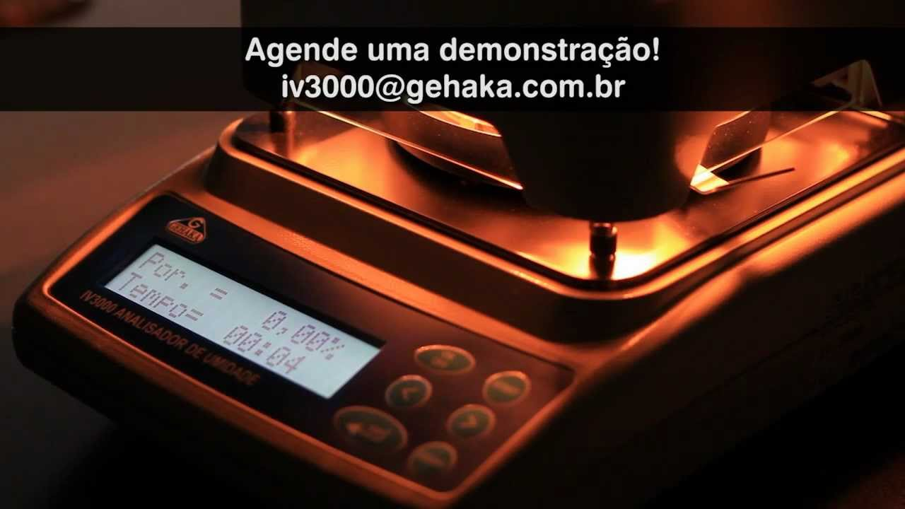 Video de demonstração do SP3000