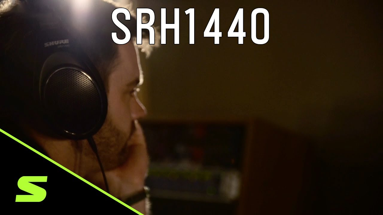 Shure Headphones: SRH1440