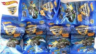 Hot Wheels Monster Jam Mistery Trucks - Ovos Surpresas De Brinquedos