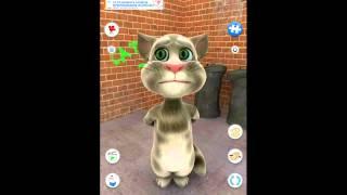 Смотреть Всем! Ахахах! Говорящий кот Том! Мультик для детей! Серия 1 скороговорка