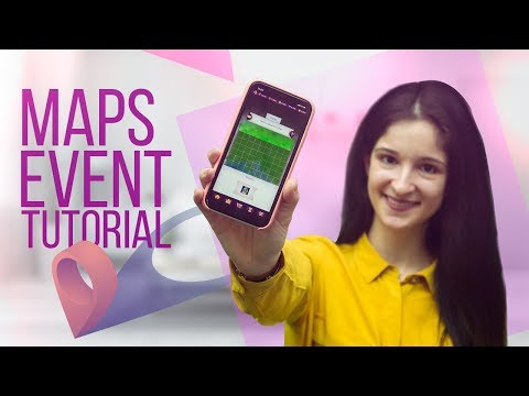 How to play maps event in Lady Popular?