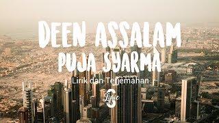 Lyric/lirik Deen Assalam ( Cover By Puja Syarma )