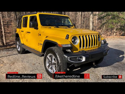 External Review Video xASdjODNP3w for Jeep Wrangler (2-door) & Wrangler Unlimited (4-door) SUV (4th gen, JL)