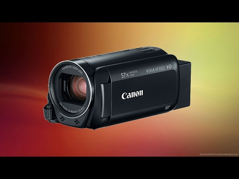 Best 2017 Entry Level Camcorder? Canon Vixia HF R800 Unboxing and Review!