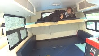 DIY Box Truck Camper Murphy Bunk Bed Pt3