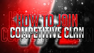 How Join Competitive Clan | How To Join Pubg Esports clan | Pubg ke competitive clan kase join kare.