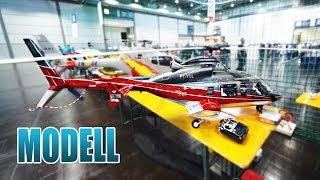 DER GRÖßTE RC HUBSCHRAUBER DER WELT? Modell Hobby Spiel Messe 2018 Leipzig