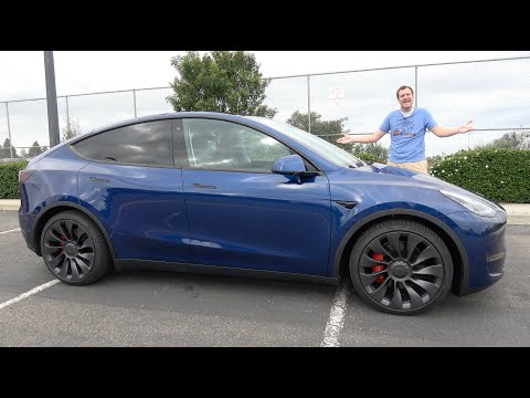 External Review Video xAXDcTH6hPw for Tesla Model Y Electric Crossover