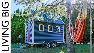 This Super Compact Tiny House is Australia's First Tiny Home On Wheels - Video Youtube