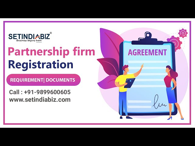 process of partnership firm registration video