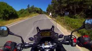 Honda CB500X Review & Testdrive (part1)