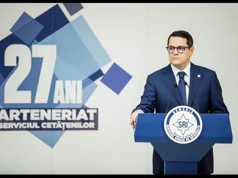 Declaratia de presa a Directorului SRI, domnul Eduard Hellvig - Bilant 2016