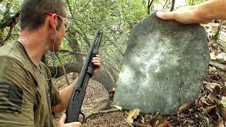 Бронепластина против 50 пулевых 12 калибра | Разрушительное ранчо | Перевод Zёбры