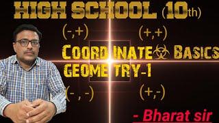 High School(10th)/Co-ordinate Geometry Basics-1/Bharat Sir