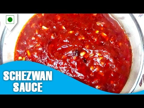 How To Make Schezwan Sauce   सेज़वान सॉस    Easy Cook With Food Junction