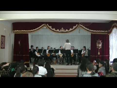 Оркестр калмыцких народных инструментов. А. Манджиев.
