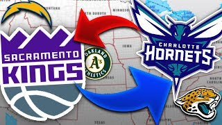 5 Sports Teams that NEED to Relocate...and 5 that MUST Stay Put!