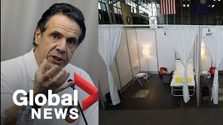 Coronavirus outbreak: NY Governor Andrew Cuomo to hold daily briefing on COVID-19 response | LIVE