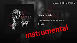 NBA Youngboy - Valuable Pain [instrumental]