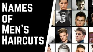 Haircut Names For Men & How To Tell Your Barber Or Hairstylist What You Want - TheSalonGuy