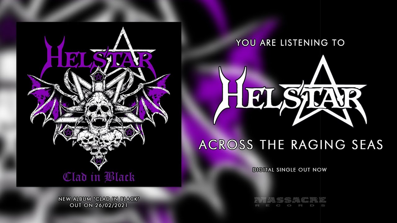 HELSTAR - Across The Raging Seas