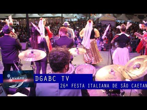 Festa Italiana de São Caetano começa com muito alto-astral