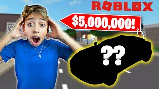 BUYING The MOST EXPENSIVE CAR in ROBLOX! ($5,000,000 SuperCar) | Royalty Gaming