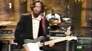 Nathan East rehearses w/ Clapton 1990