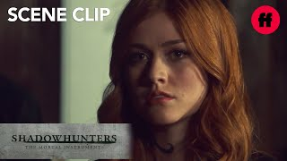 Shadowhunters | Season 3, Episode 7: Clary, Alec, & Lzzy Visit Imogen | Freeform