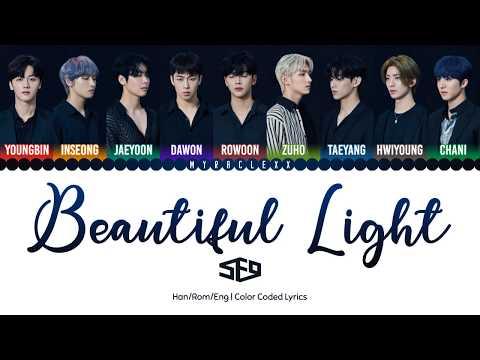 SF9 (에스에프나인) - Beautiful Light Lyrics [Color Coded-Han/Rom/Eng]