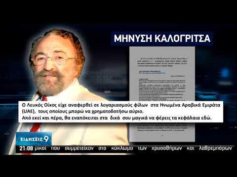 Χ.Καλογρίτσας | Στο στόχαστρο του Εισαγγελέα τα e-mail | 08/07/2020 | ΕΡΤ