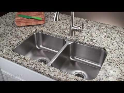 How-to Install a Stainless Steel Undermount Kitchen Sink | Moen Installation