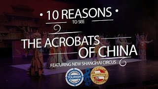 Top 10 Reasons to see The Acrobats of China Video