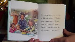Martine fait la cuisine-Je commence à lire- / Histoire pour les enfants en Français