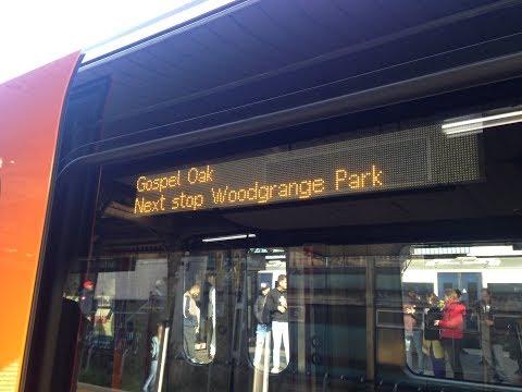 Full Journey on London Overground (Class 710) from Barking to Gospel Oak