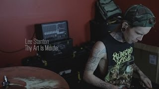 THY ART IS MURDER - Dead Sun (DRUM PLAY THROUGH)