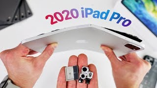 Apple iPad Pro 11 (2020) Bend Test & Teardown! Still Bends?