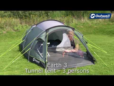 df4e2487091 Триместна палатка Outwell Earth 3 модел 2018   Палатки ...