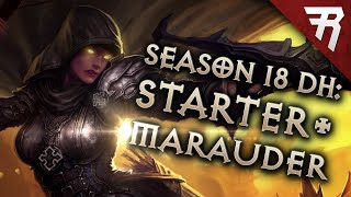 Diablo 3 Season 18 Demon Hunter Starter & Marauder build guide - Patch 2.6.6 (Beginner)