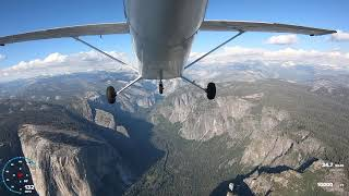 Yosemite! - Cessna 172 Flight with GoPro