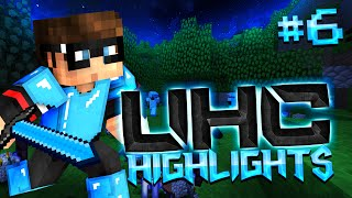 Minecraft UHC Highlights #6: Too Close For Comfort