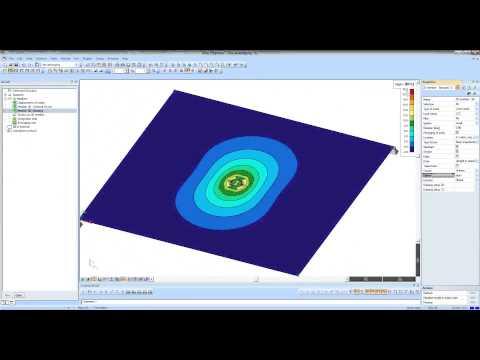 Handling result peaks on surfaces in SCIA Engineer